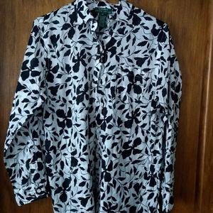 Ladies Ralph Lauren medium blouse